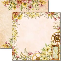 SC-613-Time Woman 2 - Papel para Scrapbook Dupla Face