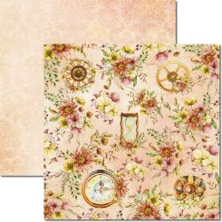 SC-614-Time Woman 3 - Papel para Scrapbook Dupla Face