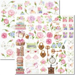 SC-649-Book 6 - Papel para Scrapbook Dupla Face