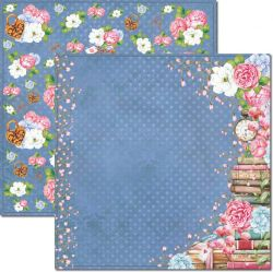 SC-648-Book 5 - Papel para Scrapbook Dupla Face