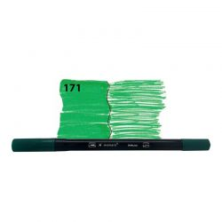 Caneta DUALtip 171 / Verde - Bismark **
