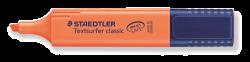 Caneta Textsurfer Classic 364-4 / Fluorescente Laranja - Staedtler **