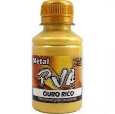 Tinta PVA Metal Ouro Rico - True Colors **
