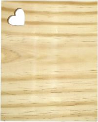 LMT-1124- Tábua de Frios Retangular P 20x16cm  - Pinus