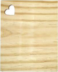 LMT-1125- Tábua de Frios Retangular  M 24x20cm - Pinus