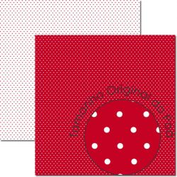 SC-675-Poá 9 - Papel para Scrapbook Dupla Face