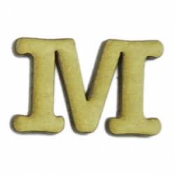 LR-097 M 6un. - Letra MDF