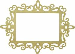 LR-353 2un. - Aplique Decorativo MDF