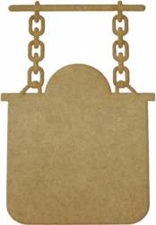 LR-375 2un. - Aplique Decorativo MDF