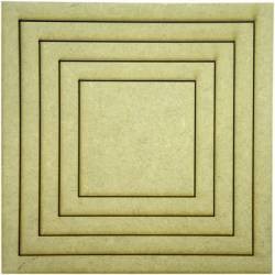 LR-092 1un. - Aplique Decorativo MDF