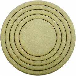 LR-093 1un. - Aplique Decorativo MDF